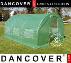 Greenhouse 3x4.5x2 m, Green