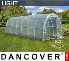 Greenhouse Light 2,2x6x1,9 m, Transparent
