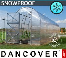 Greenhouse, Duo 12 m², 2x6 m, Silver