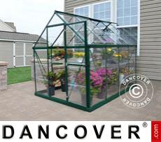 Greenhouse 4.5m², 1.85x2.47x2.08 m Green