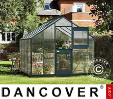 Greenhouse 8.3m², 2.77x2.98x2.57 m, Anthracite