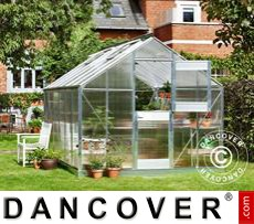 Greenhouse 12.1m², 2.77x4.41x2.57 m, Aluminium