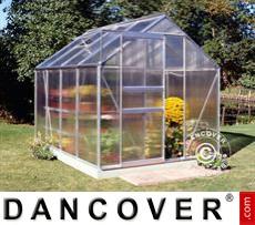 Greenhouse 5m², 1.93x2.57x1.95 m, Aluminium