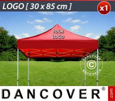 1 pc. FleXtents roof cover print 30x85 cm