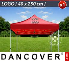 1 pc. FleXtents roof cover print 40x250 cm