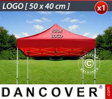 1 pc. FleXtents roof cover print 50x40 cm