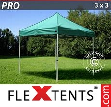Pop up canopy PRO 3x3 m Green