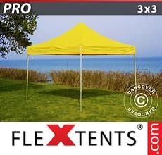 Pop up canopy PRO 3x3 m Yellow