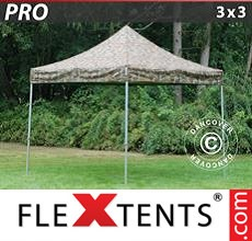 Pop up canopy PRO 3x3 m Camouflage/Military