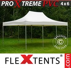 Pop up canopy Xtreme Heavy Duty 4x6 m, White