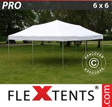 Pop up canopy PRO 6x6 m White