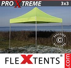 Pop up canopy Xtreme 3x3 m Neon yellow/green