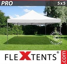Pop up canopy PRO 5x5 m White