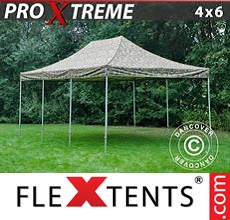 Pop up canopy Xtreme 4x6 m Camouflage/Military
