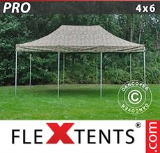 Pop up canopy PRO 4x6 m Camouflage/Military