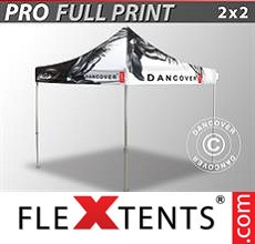 Pop up canopy PRO with full digital print, 2x2 m