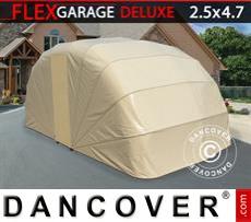 Portable Garage , 2.5x4.7x2 m, Beige