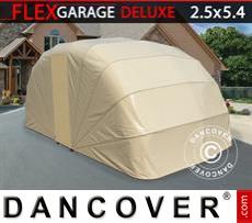Portable Garage , 2.5x5.4x2 m, Beige