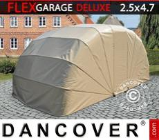 Portable Garage , ECO, 2.5x4.7x2 m, Beige