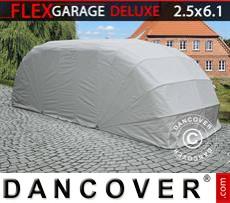 Portable Garage , ECO, 2.5x6.1x2 m, Grey