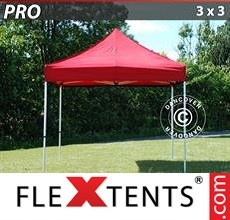 Racing tent PRO 3x3 m Red