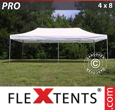 Racing tent PRO 4x8 m White