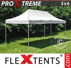 Racing tent Xtreme 3x6 m White