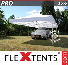 Racing tent PRO 3x6 m White