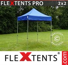 Racing tent FleXtents PRO 2x2 m Blue