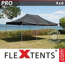 Racing tent PRO 4x6 m Black