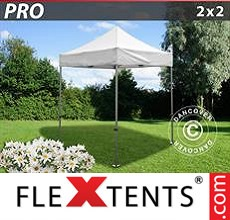 Racing tent PRO 2x2 m White