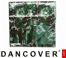 Camouflage tarpaulin Woodland, 2x3m