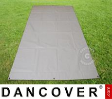 Tarpaulin/Ground cover 2.8x5.2 m PVC, Grey