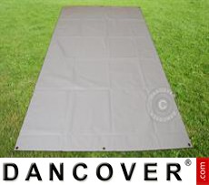 Tarpaulin/Ground Cover, 4.5x8.5 m PVC, Grey