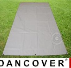 Tarpaulin/Ground Cover 5.5x8.5 m PVC, Grey