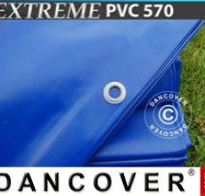 Tarpaulin 10x12 m PVC 570 g/m² Blue