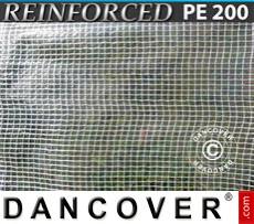 Tarpaulin 10x14 m PE 200 g/m² Clear