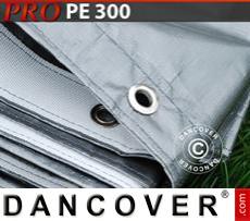 Tarpaulin 6x12 m PE 300 g/m² Grey