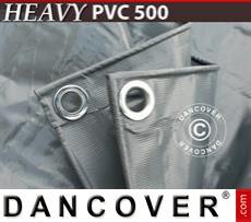 Tarpaulin 6x12 m PVC 500 g/m² Grey