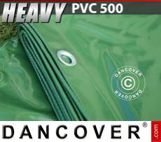 Tarpaulin 6x12 m PVC 500 g/m² Green
