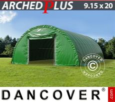 Tents 9.15x20x4.5 m PVC, Green