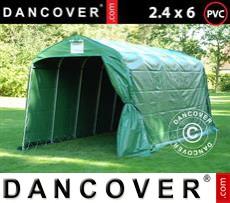 Tents PRO 2.4x6x2.34 m PVC, Green