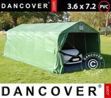 Tents PRO 3.6x7.2x2.68 m PVC, with ground cover, Green/Grey