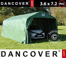 Tents PRO 3.6x7.2x2.7 mPVC, Green