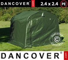 Tents PRO 2.4x2.4x2 m PE, Green