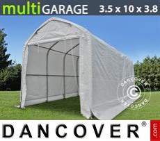 Tents multiGarage 3.5x10x3x3.8 m, White