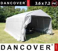 Tents PRO 3.6x7.2x2.68 m PVC, Grey