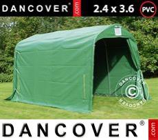 Tents PRO 2.4x3.6x2.34 m PVC, Green
