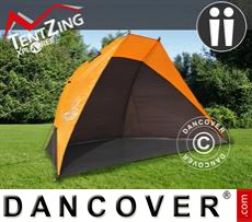 Camping tents,  TentZing®, 2 persons, Orange/Dark Grey