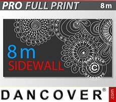 Printed sidewall 8 m for FleXtents PRO